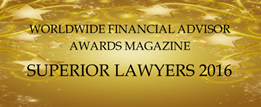 Superior Lawyers AwardIrish Employment Dipsutes Firm of the Year 2016